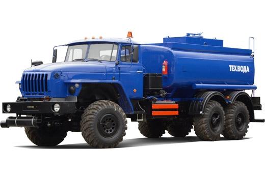 Фото автомобиля автомобильная цистерна для тех. воды АЦН-10 (4320)