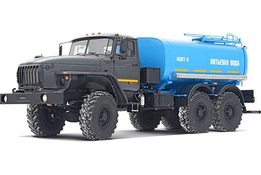 Фото автомобиля Автомобильная цистерна для питьевой воды АЦПТ-8 (5557)