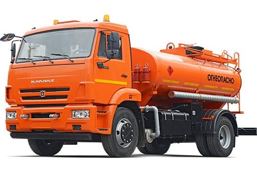 Фото автомобиля Автомобильный топливозаправщик АТЗ-9 (43253), 1 секция