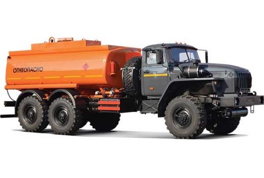 Фото автомобиля Автомобильный топливозаправщик АТЗ-12 (4320), 2 секции