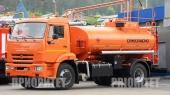 Автомобильный топливозаправщик АТЗ-9 (43253), 1 секция