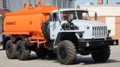 Автомобильный топливозаправщик АТЗ-12 (4320), 2 секции