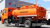 Автомобильный топливозаправщик АТЗ-9 (43253), 2 секции