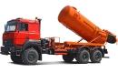 Фото автомобиля Автоцистерна для сбора газового конденсата и нефти АКНС-10 с подъемом цистерны и открывающимся дном на базе Урал-4320